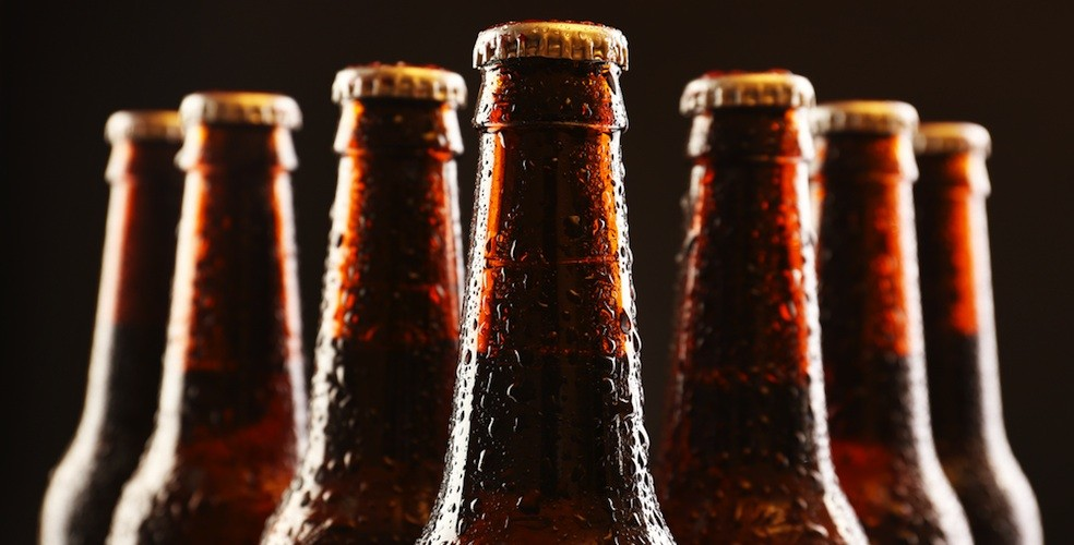 beer bottles brown
